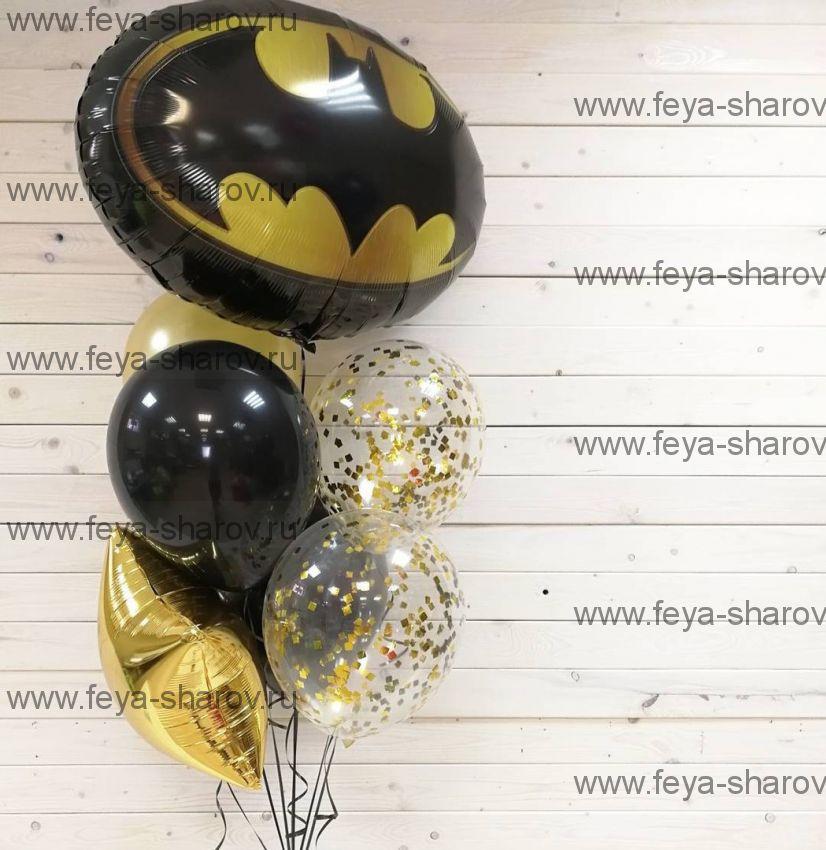 Фонтан шаров Бэтмен