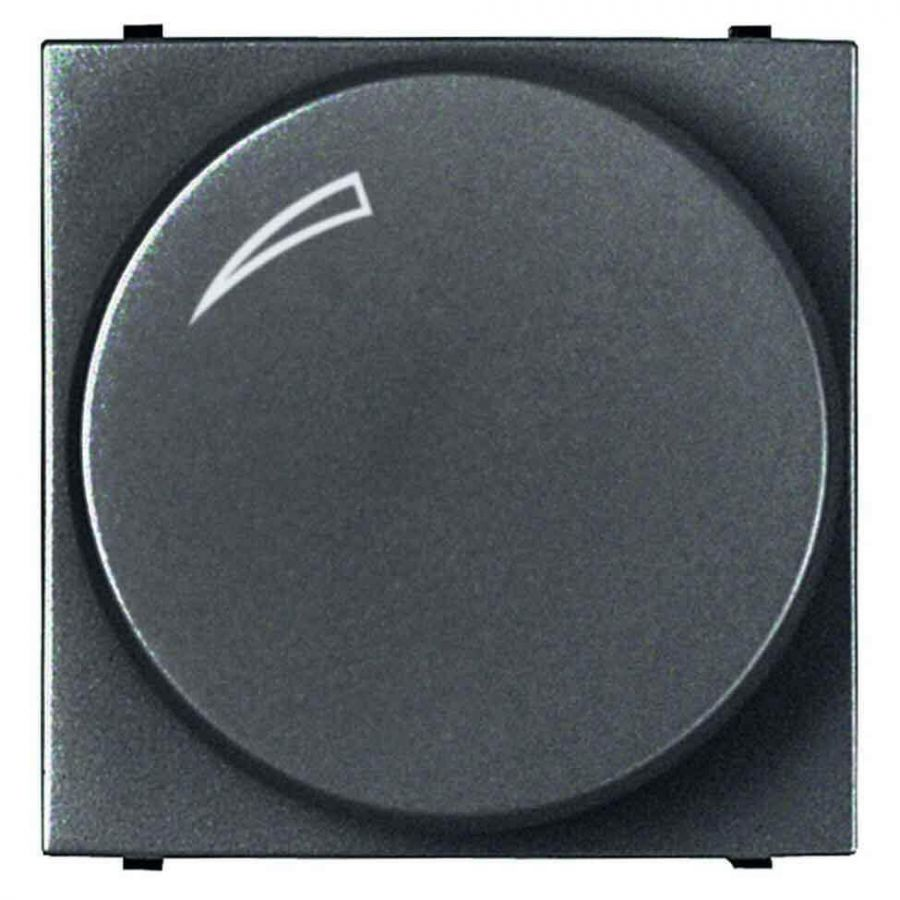 Диммер поворотный ABB Zenit антрацит 2CLA226020N1801