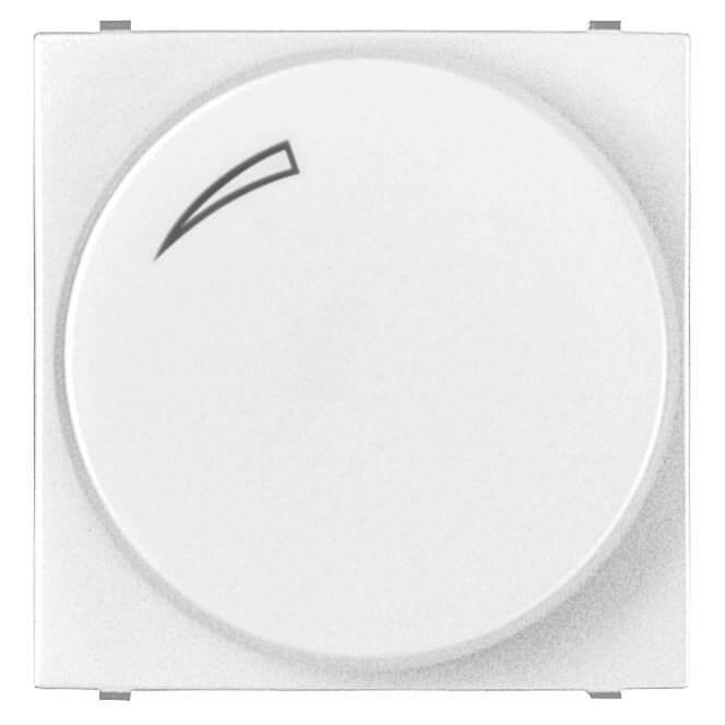 Диммер поворотный для LEDi ламп ABB Zenit альпийский белый 2CLA226030N1101