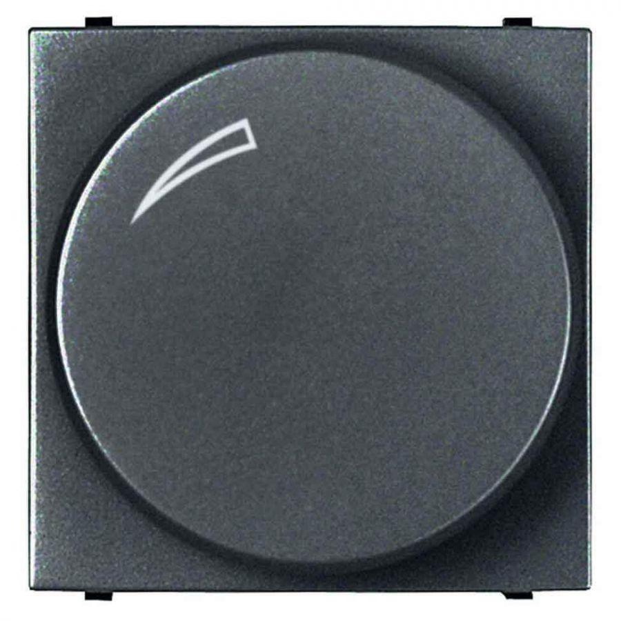 Диммер поворотный для LEDi ламп ABB Zenit антрацит 2CLA226030N1801