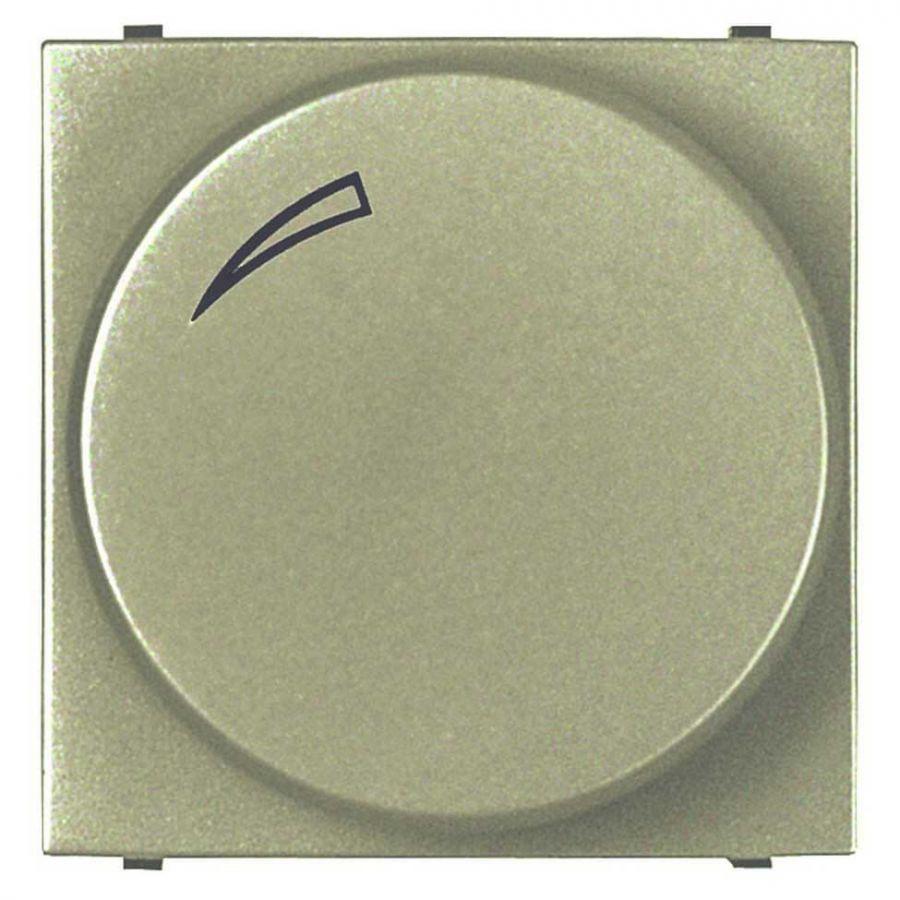 Диммер поворотный для LEDi ламп ABB Zenit шампань 2CLA226030N1901