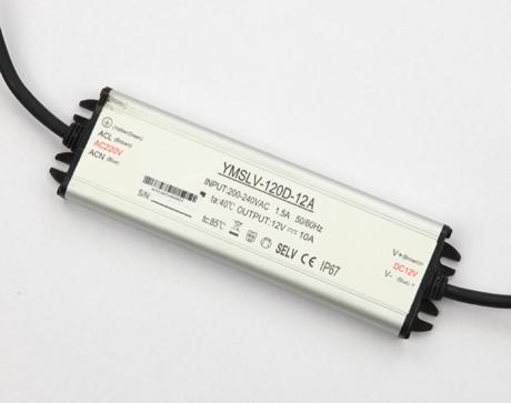 Блок питания YMSLV-120D-12A 120Вт 12В IP67 EXTRA SLIM