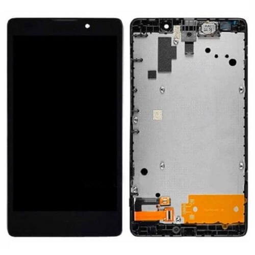 Дисплей в сборе c сенсорным стеклом для Nokia Lumia XL