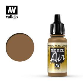 """032.  """"Model Air""""  Золотисто-коричневый"""