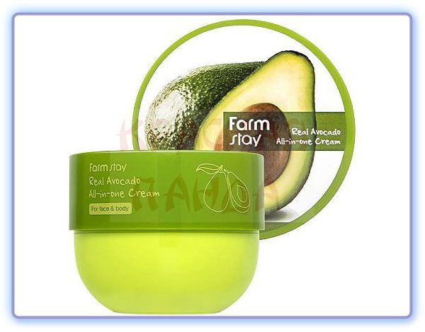 Крем для лица и тела с авокадо FarmStay Real Avocado All-In-One Cream