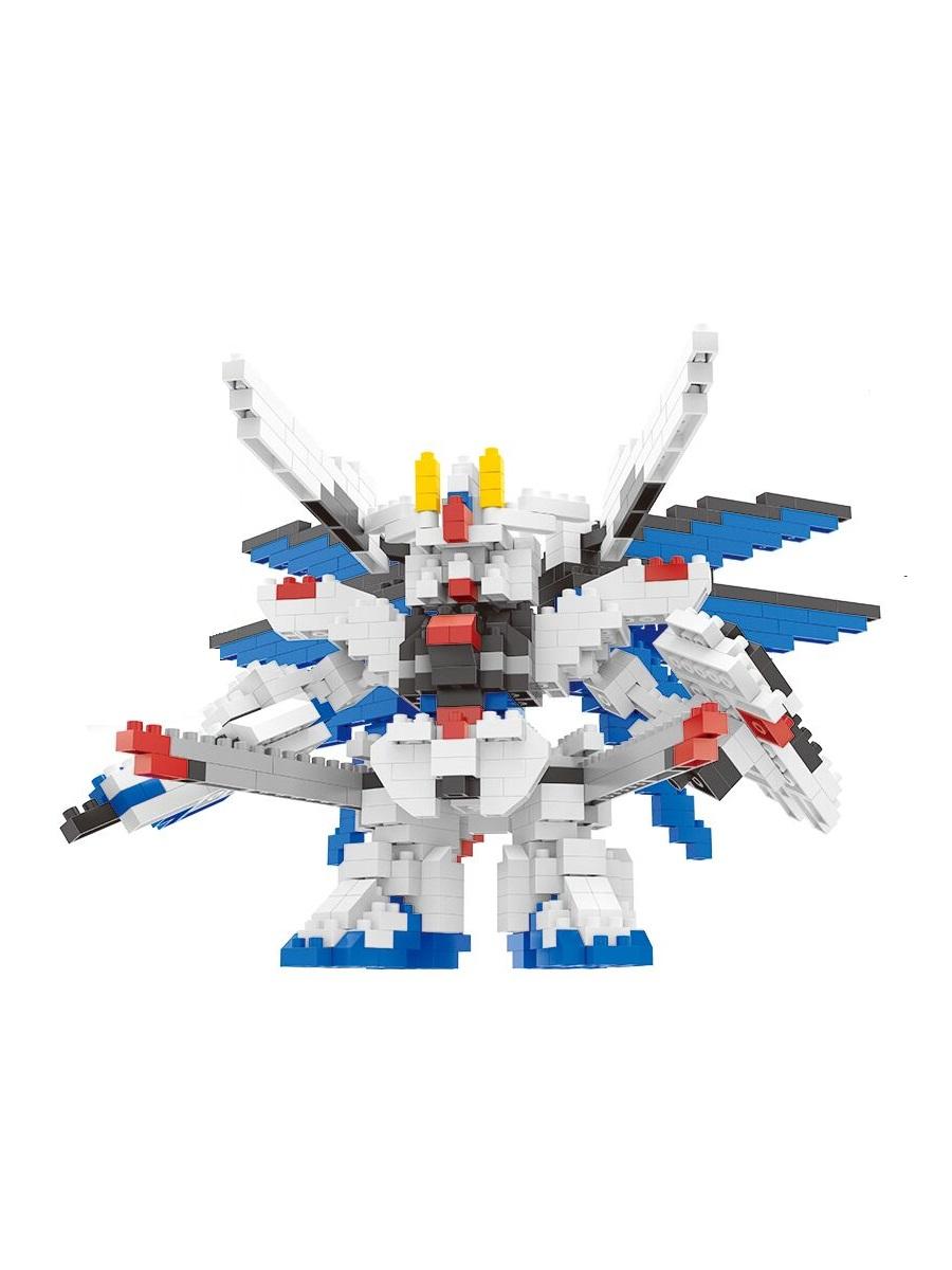 Конструктор Wisehawk & LNO Фридом Гандам 627 деталей NO. 2359 Freedom Gundam mini block