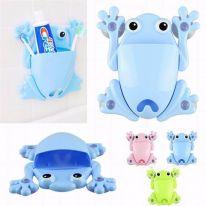Органайзер для ванной Лягушка, голубой