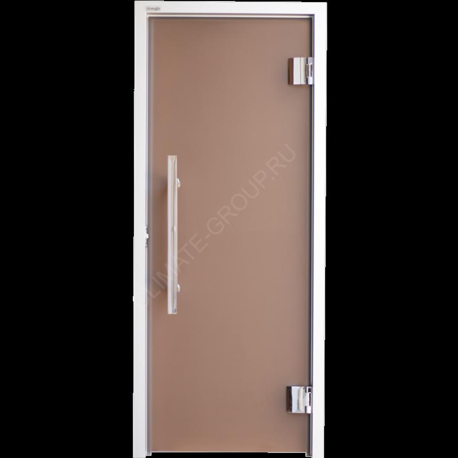 Дверь стеклянная Grandis GS 7?19 Anodize Silver Bronze
