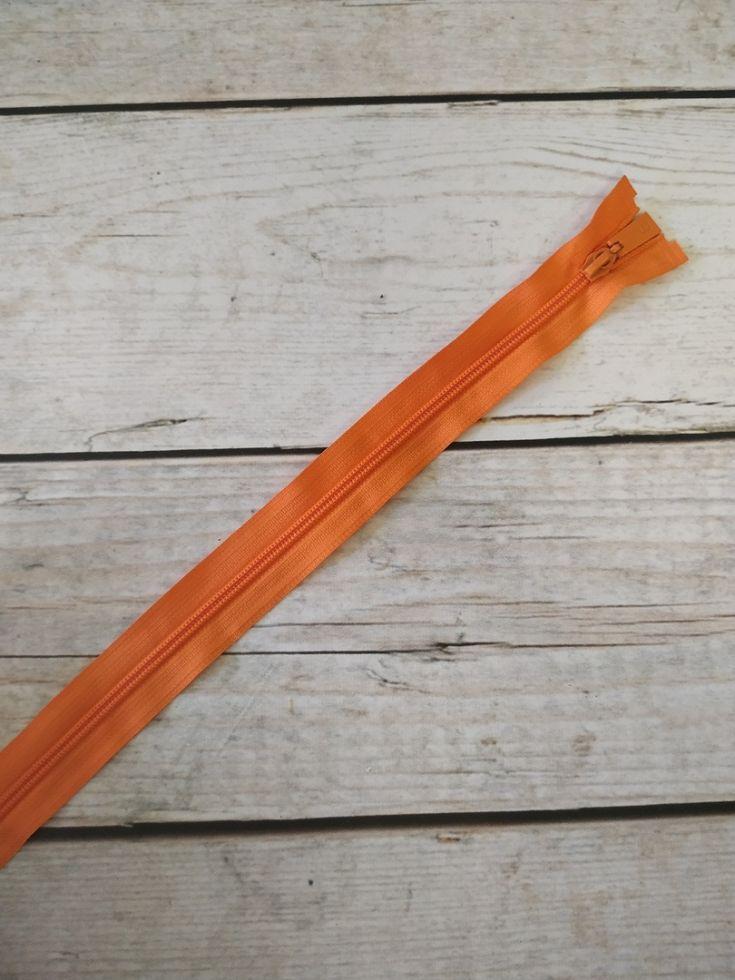 молния спираль длинная 90см оранж