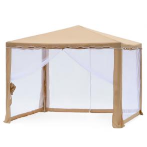 Тент шатер садовый Green Glade 1040 3х3х2,5м (полиэстер)