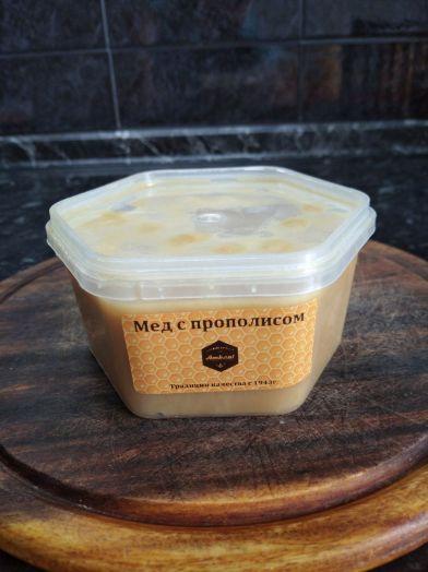 Крем-мед с прополисом, 450 г