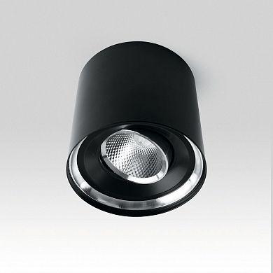 Светодиодный светильник Feron AL515 накладной 5W 4000K черный поворотный