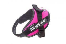 JULIUS-K9 IDC®-Powerharness 0 Шлейка для собак, темно-розовый  (58-76см/ 14-25кг)