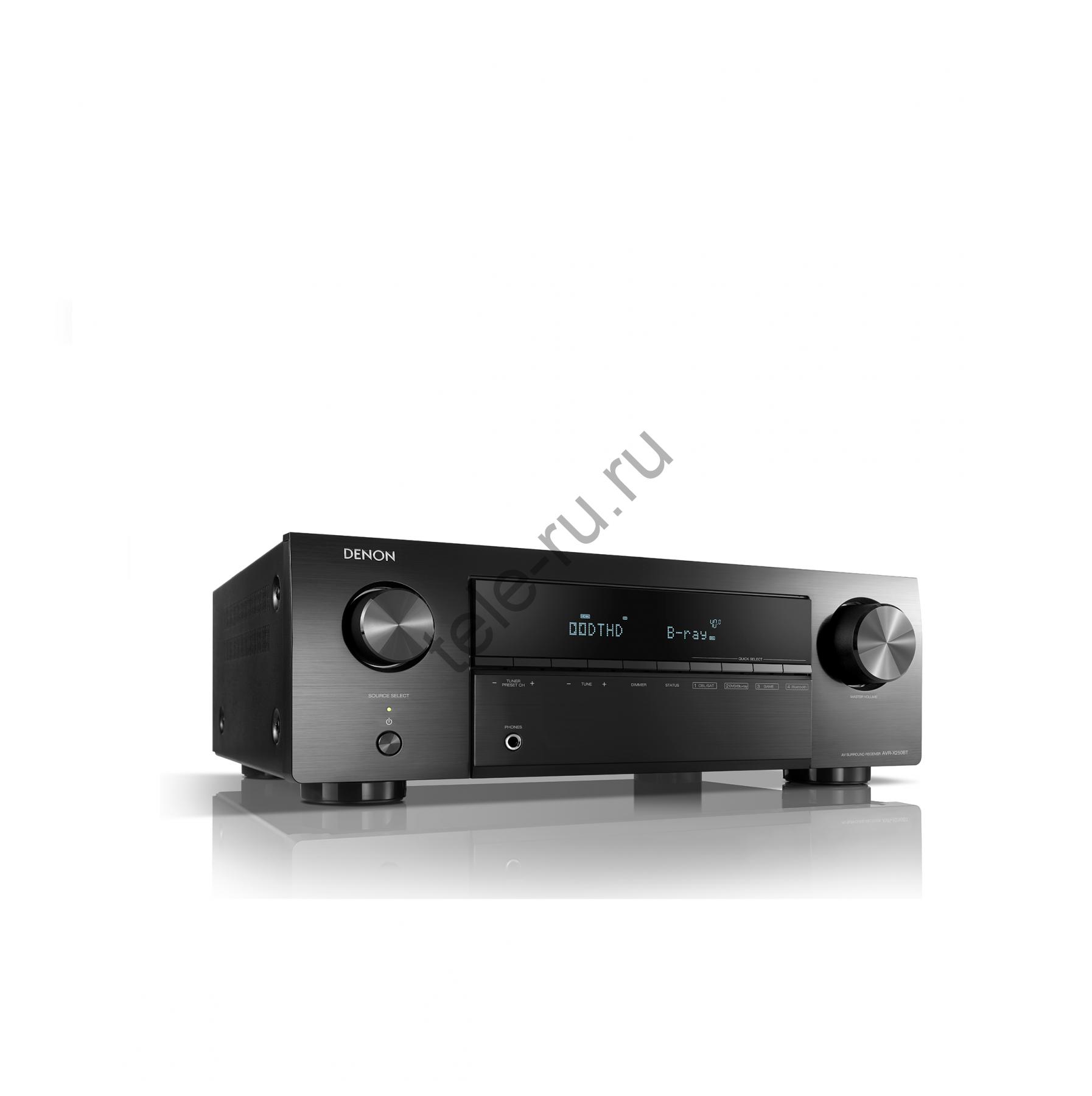 AV Ресиверы DENON AVR-X250BT