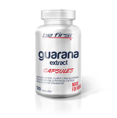 BeFirst Guarana Extract Capsules 120 капсул