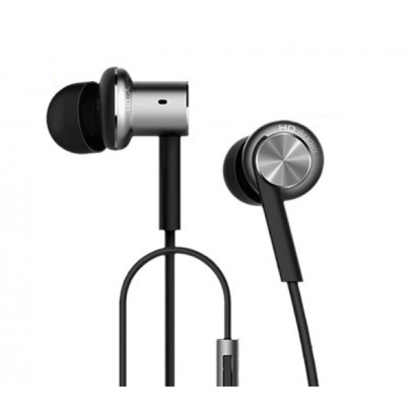 Наушники Xiaomi Mi In-Ear Headphones Hybrid Pro (Piston 4) серебристые