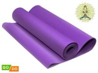Коврик гимнастический. Цвет: фиолетовый, артикул 00069