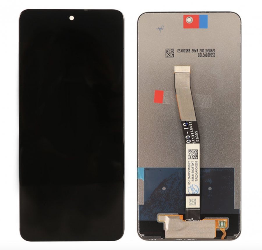 LCD (Дисплей) Xiaomi Redmi Note 9 Pro/Redmi Note 9S (в сборе с тачскрином) (black) Оригинал