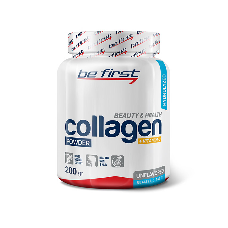 Be First Collagen + Vitamin C Powder 200 г.