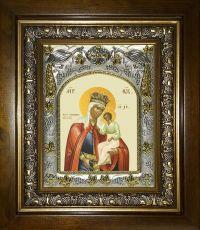 Избавление от бед страждущих икона Божией матери (14х18)