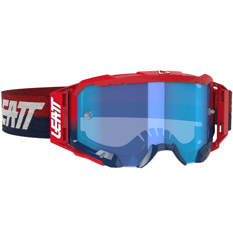 Leatt Velocity 5.5 Red/Blue 52%, очки для мотокросса и эндуро