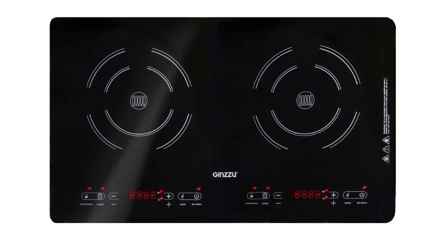 Электрическая плита GINZZU HCI-243