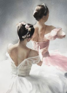 Почтовая открытка Балетный мотив