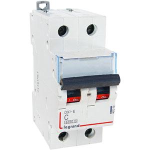 Legrand DX3-E Автоматический выключатель 2P 25А (С) 6000/6kA
