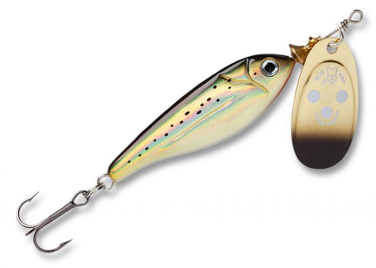 Блесна Blue Fox Minnow Super Vibrax BFMSV G 2