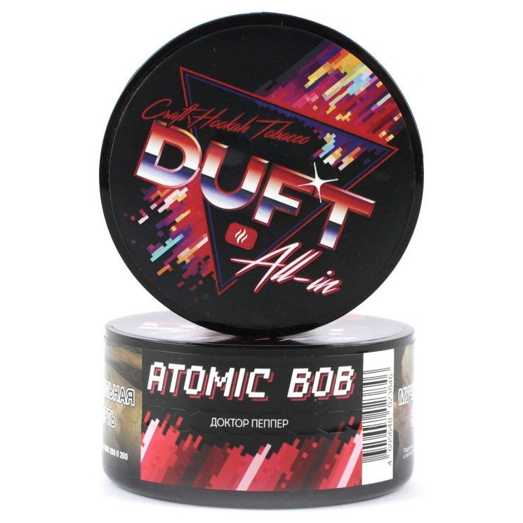 Табак Duft All-In - Atomic Bob (Доктор Пеппер, 25 грамм)