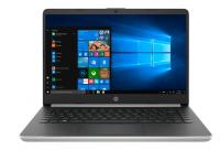 "Ноутбук HP 14s-dq0000ur (PDC 4417U/4Gb/SSD 128Gb/Intel HD Graphics 610/14"" HD/SVA/BT Cam/Win10) Серебристый/Черный (7DZ84EA)"