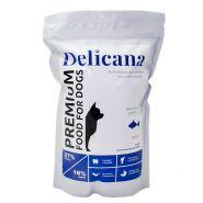 Delicana Сухой корм для собак мелких пород, лосось с рисом. 1,5 кг
