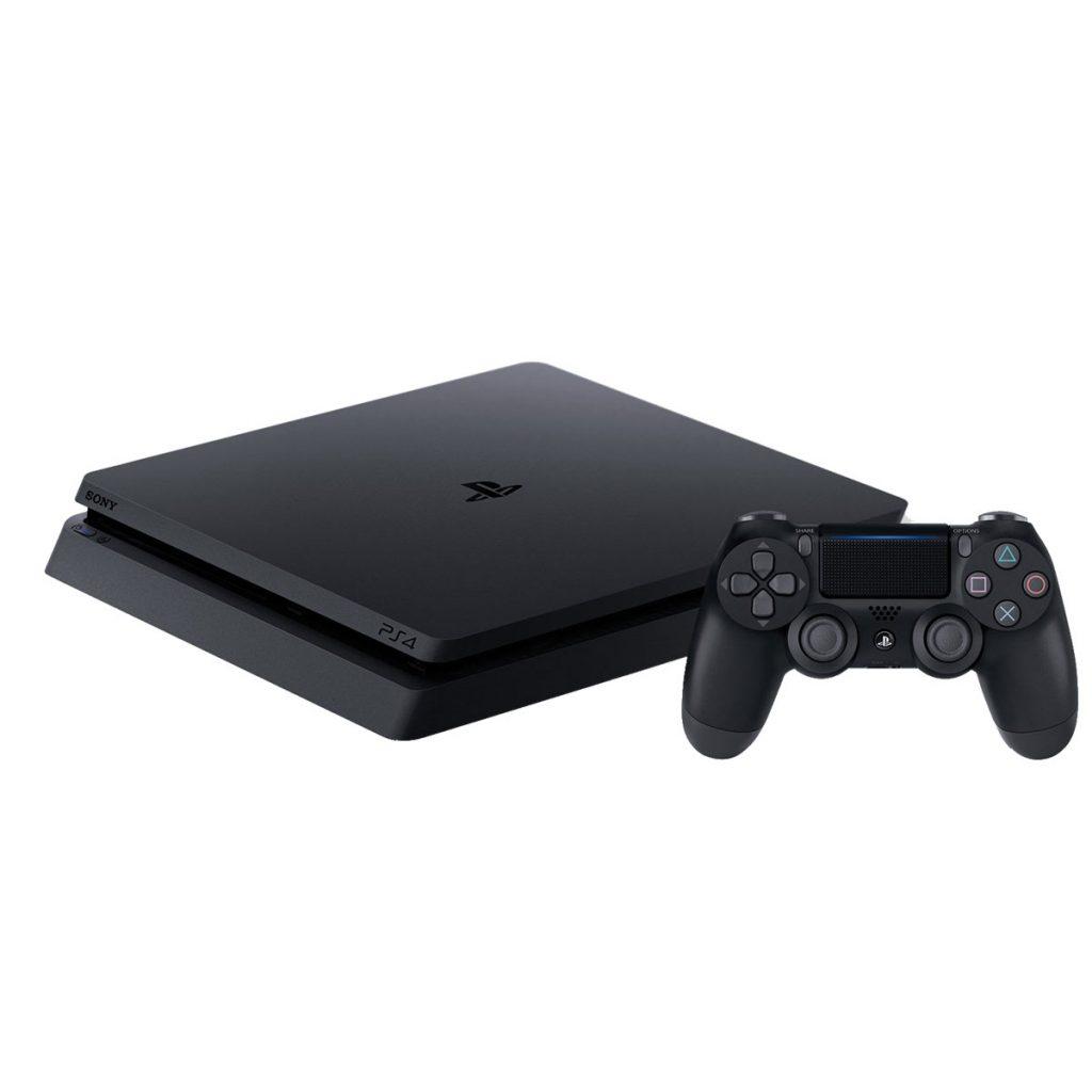 Sony PlayStation 4 Slim 1 Тб (CUH-2208B) + Силиконовый чехол для джойстика
