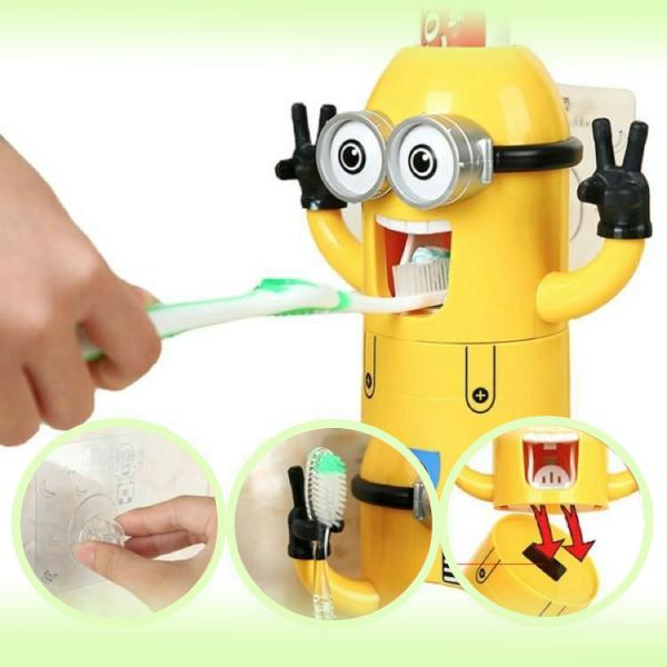 Многофункциональный Дозатор зубной пасты Миньон