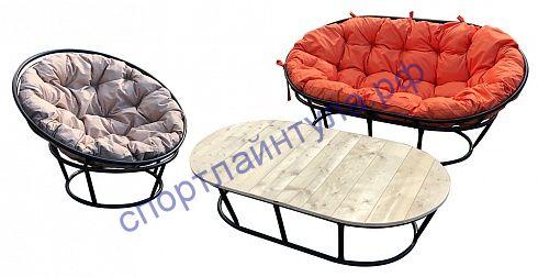 Комплект мамасан, папасан и стол