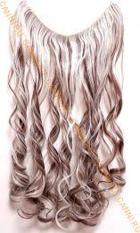 Искусственные термостойкие волосы на леске волнистые №F008/613 (60 см) - 100 гр.