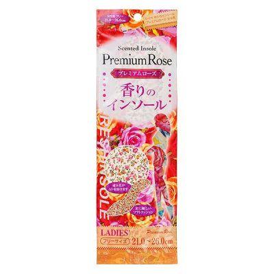 015789 Стельки дезодорирующие с ароматом розы женские, 21-26 см