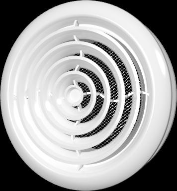 Диффузор со стопорным кольцом и фланцем