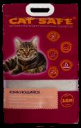 Cat safe наполнитель комкующийся 10л