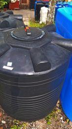 Бак для воды 1000 литров ЭВЛ черный