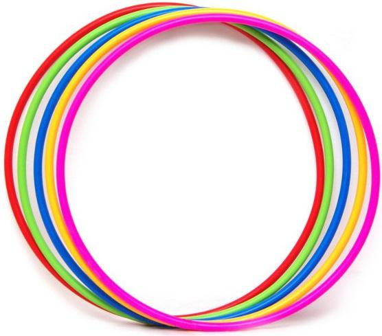 Обруч гимнастический пластиковый 60 см