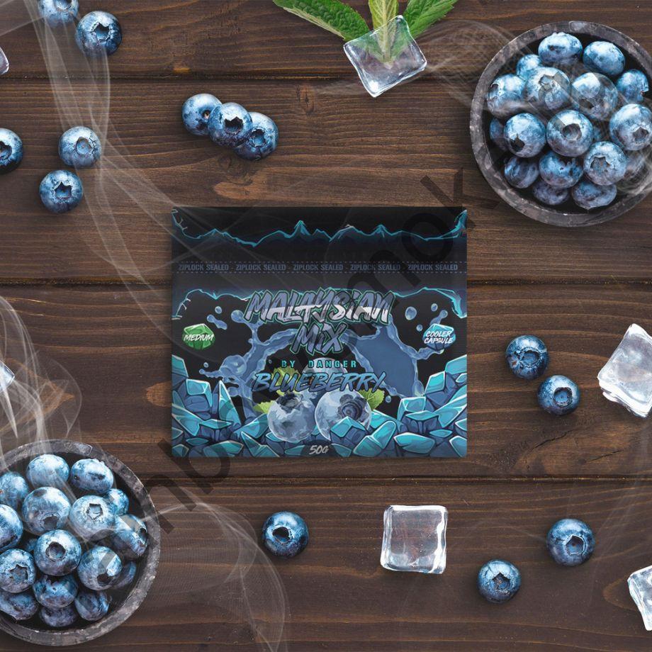 Смесь Malaysian Mix Hard 50 гр - Blueberry (Черника)