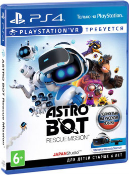 Игра Astro Bot Rescue Mission (PS4 VR)