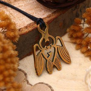 """Амулет из ювелирной бронзы """"Серафим"""" (символ добрых дел и поступков)"""