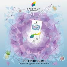 Spectrum Ice fruit gum 40гр