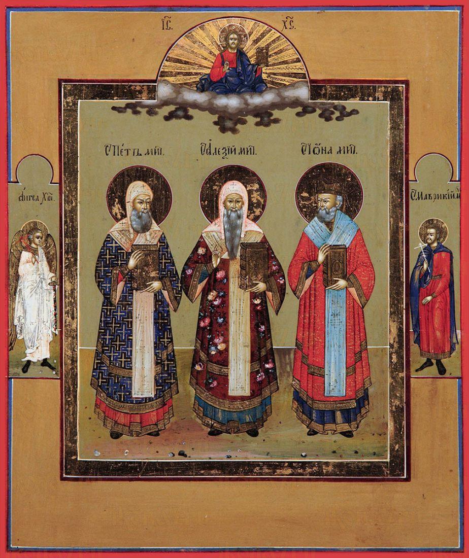 Икона Святители Петр Алексий и Иона