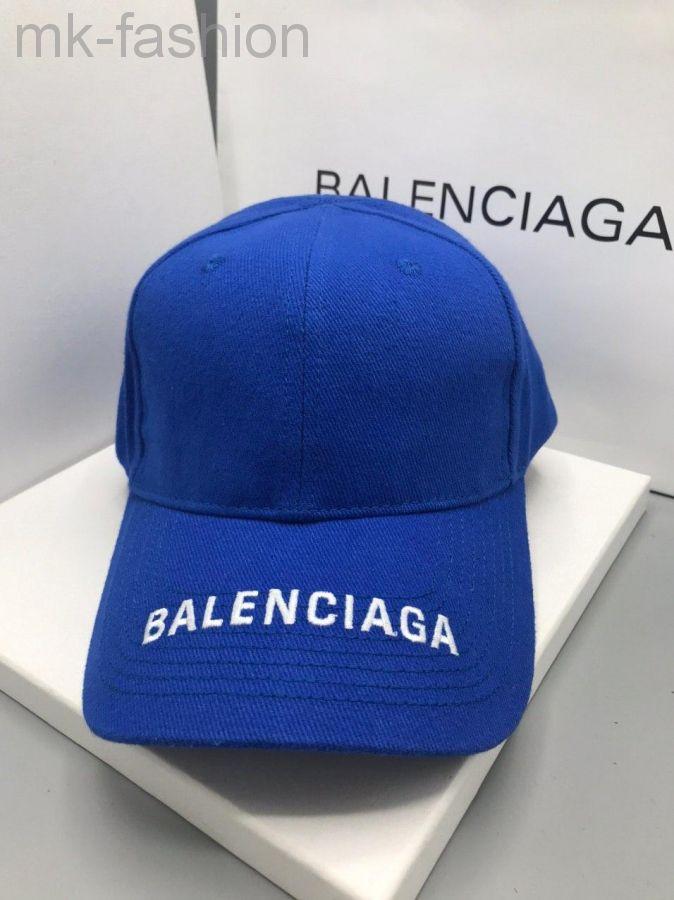 Balenciaga Бейсболка Синяя
