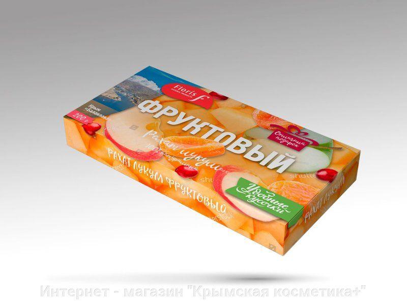 Натуральные сладости рахат лукум Фруктовый 200 гр