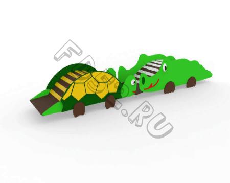 Мостик-Лаз «Крокодил и черепаха»   361.03