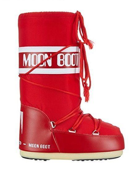 Moon Boot Nylon Red / 35-38.